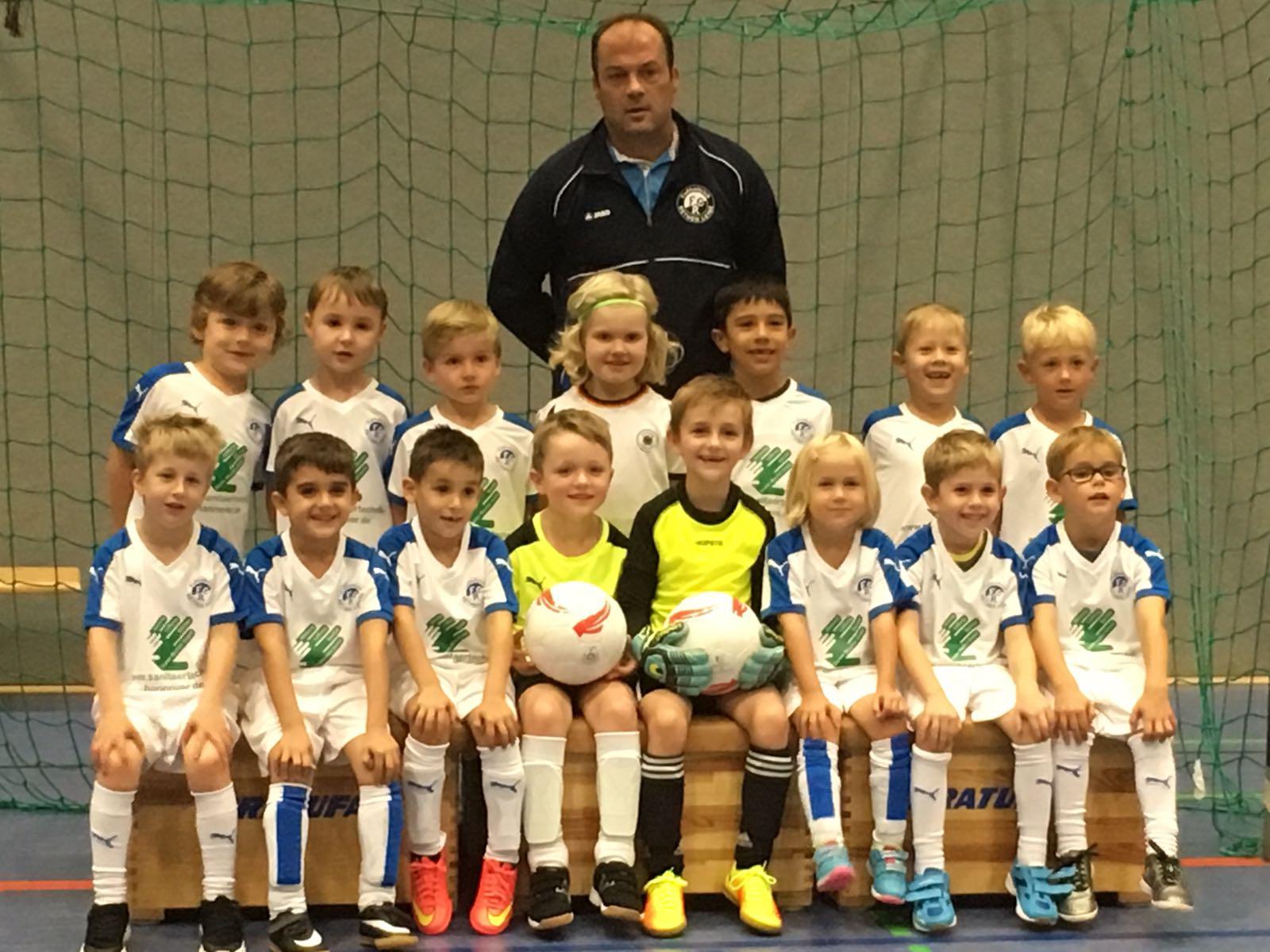 FC Rethen – Mischke GmbH rüstet G-Jugendfußballer des FC Rethen aus.